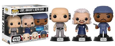 FUNKO POP ! STAR WARS CLOUD CITY 3-PACK / WALMART EXCLUSIVE / VORBESTELLUNG
