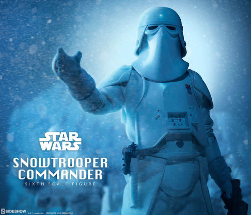 SIDESHOW STAR WARS SNOWTROOPER COMMANDER / SIXTH SCALE
