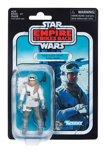 THE VINTAGE COLLECTION - HOTH REBEL SOLDIER (ESB) 3,75""