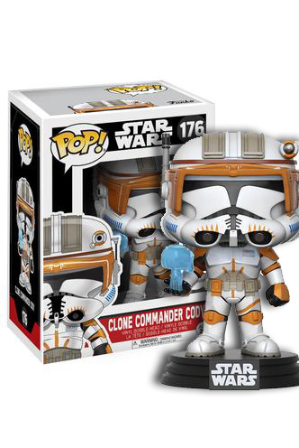 FUNKO POP ! CLONE COMMANDER CODY #176 / EXCLUSIVE