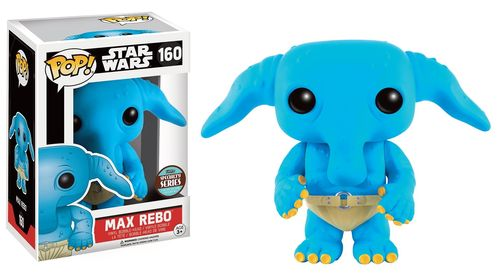 FUNKO POP ! MAX REBO #160 / SPECIALTY SERIES