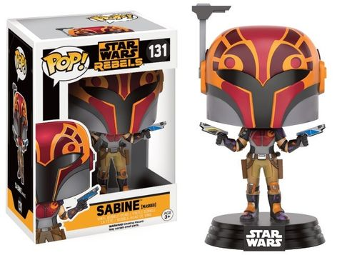 FUNKO POP ! STAR WARS SABINE WREN #131