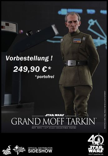 HOT TOYS STAR WARS GRAND MOFF TARKIN / SIXTH SCALE