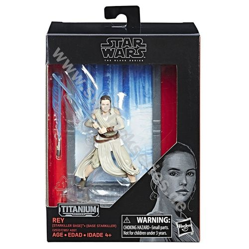 BLACK SERIES TITANIUM REY (STARKILLER BASE) 3,75""