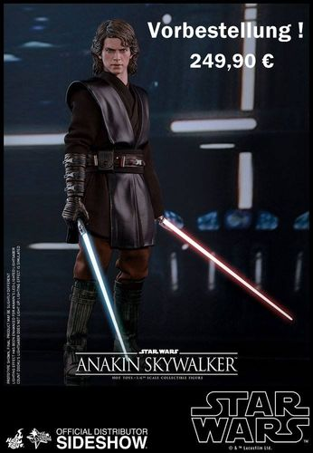 HOT TOYS STAR WARS ANAKIN SKYWALKER / SIXTH SCALE