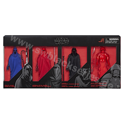 GUARDS OF EVIL 4-PACK / BARNES & NOBLE EXCLUSIVE
