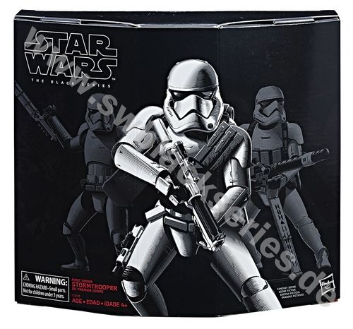 FIRST ORDER STORMTROOPER WITH HEAVY GEAR / AMAZON USA EXCLUSIVE