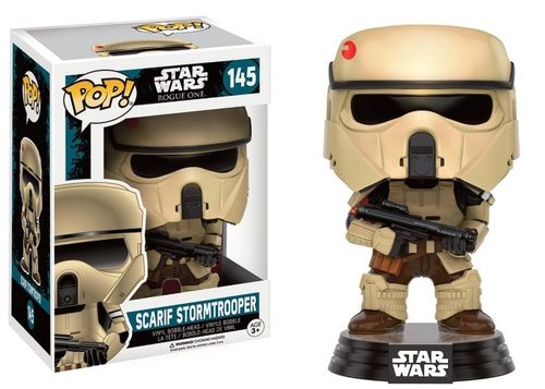 FUNKO POP! STAR WARS SCARIF STORMTROOPER #145