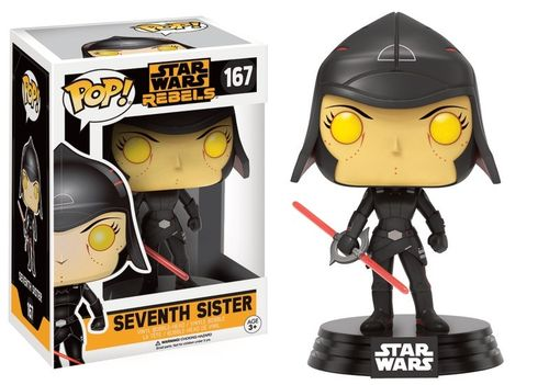 FUNKO POP! STAR WARS SEVENTH SISTER #167
