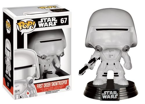 FUNKO POP! STAR WARS FIRST ORDER SNOWTROOPER #67