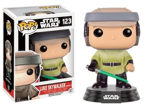 FUNKO POP! STAR WARS LUKE SKYWALKER (ENDOR) #123