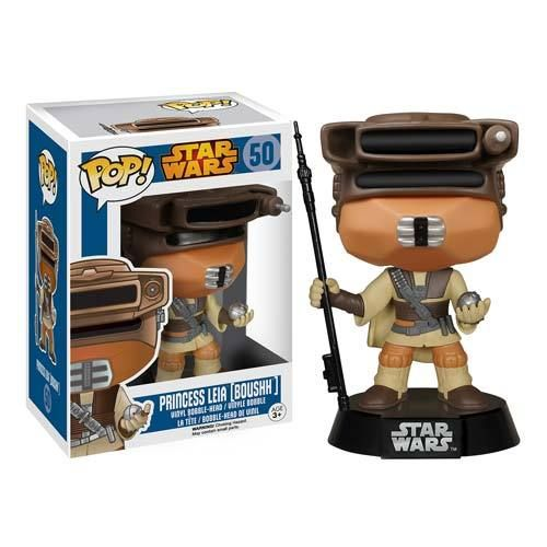 FUNKO POP! STAR WARS PRINCESS LEIA (BOUSHH) #50
