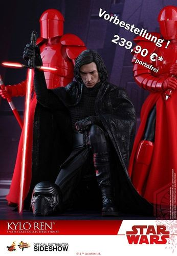 HOT TOYS STAR WARS KYLO REN (THE LAST JEDI) / SIXTH SCALE