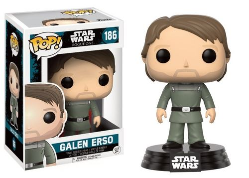 FUNKO POP STAR WARS GALEN ERSO #186