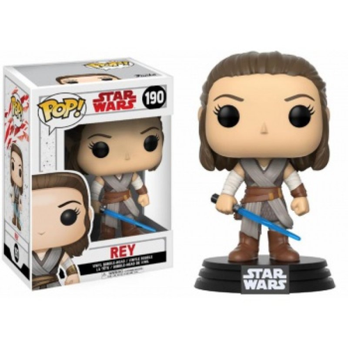 FUNKO POP STAR WARS THE LAST JEDI - REY #190