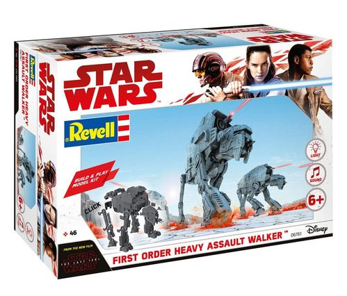 REVELL STAR WARS FIRST ORDER HEAVY ASSAULT WALKER (AT-M6)  1/164