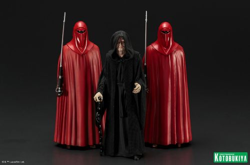 KOTOBUKIYA STAR WARS EMPEROR + ROYAL GUARDS 3-PACK ARTFX+ 1/10