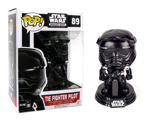 FUNKO POP STAR WARS TIE FIGHTER PILOT #89 / SMUGGLER'S BOUNTY EXCLUSIVE