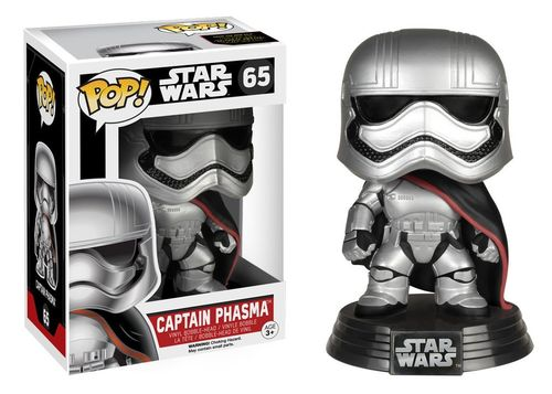 FUNKO POP STAR WARS CAPTAIN PHASMA #65