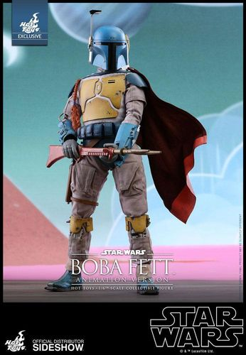 HOT TOYS STAR WARS BOBA FETT ANIMATION VERSION / HOT TOYS EXCLUSIVE / SIXTH SCALE