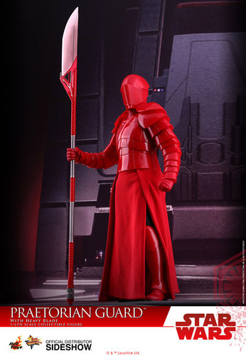 HOT TOYS STAR WARS PRETORIAN GUARD WITH HEAVY BLADE / SIXTH SCALE