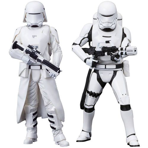 KOTOBUKIYA STAR WARS FIRST ORDER SNOWTROOPER + FLAMETROOPER 2-PACK ARTFX+ 1/10