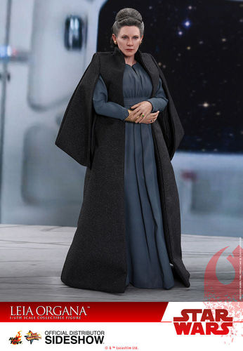 HOT TOYS STAR WARS THE LAST JEDI - LEIA ORGANA / SIXTH SCALE