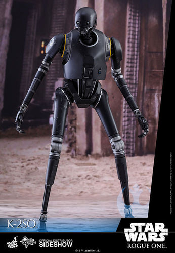 HOT TOYS STAR WARS ROGUE ONE - K-2SO / SIXTH SCALE
