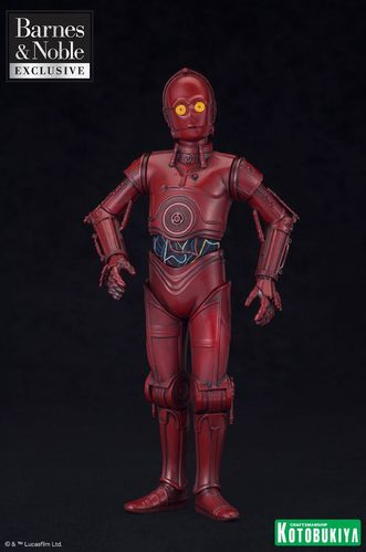 KOTOBUKIYA STAR WARS R-3PO ARTFX+ 1/10 / BARNES&NOBLES EXCLUSIVE