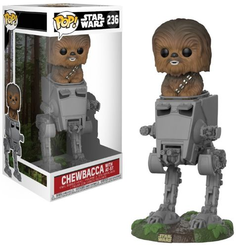 FUNKO POP STAR WARS CHEWBACCA IN AT-ST #236