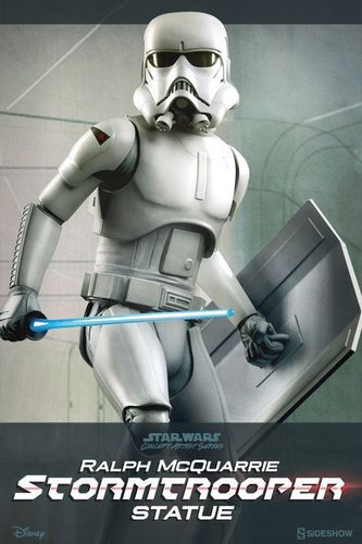 SIDESHOW STAR WARS McQUARRIE STORMTROOPER PREMIUM FORMAT 1/4