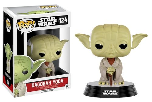 FUNKO POP STAR WARS DAGOBAH YODA #124