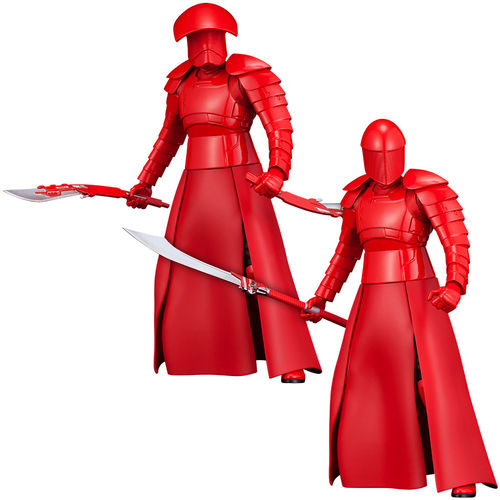 KOTOBUKIYA STAR WARS ELITE PRAETORIAN GUARDS 2-PACK ARTFX+ 1/10