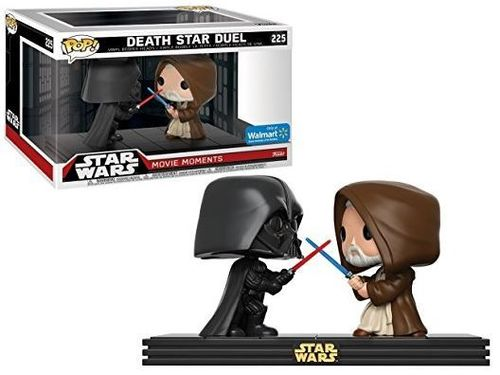 FUNKO POP STAR WARS MOVIE MOMENTS - DEATH STAR DUEL #225 / WALMART EXCLUSIVE