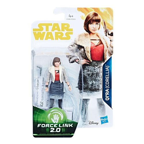 "SOLO - A STAR WARS STORY - QI'RA 3,75"" / FORCE LINK"