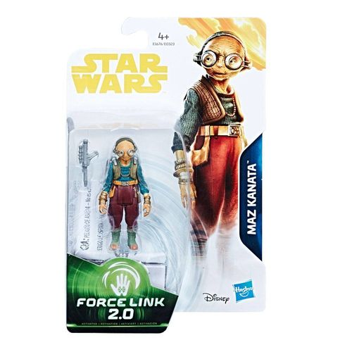 "SOLO - A STAR WARS STORY - MAZ KANATA (THE FORCE AWAKENS) 3,75"" / FORCE LINK"