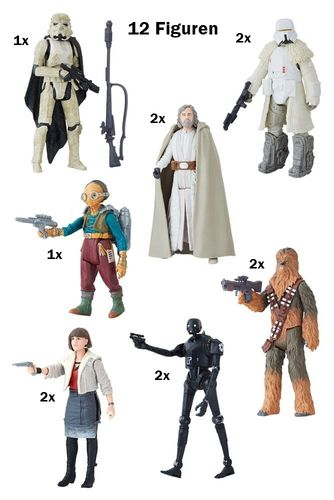 "SOLO - A STAR WARS STORY 3,75"" WAVE 1 BASIC LINE / FORCE LINK / CLOSED CASE"