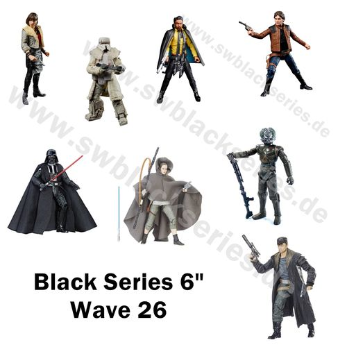 WAVE 26 COMPLETE / SOLO - A STAR WARS STORY