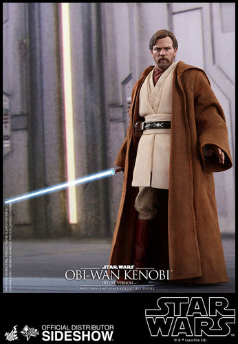 HOT TOYS STAR WARS OBI-WAN KENOBI (REVENGE OF THE SITH) DELUXE / SIXTH SCALE
