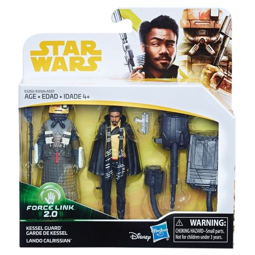SOLO - A STAR WARS STORY -  KESSEL GUARD + LANDO CALRISSIAN 2-PACK / FORCE LINK