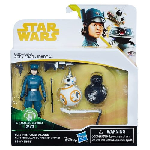 SOLO - A STAR WARS STORY -  ROSE + BB-8 + BB-9E 3-PACK / FORCE LINK
