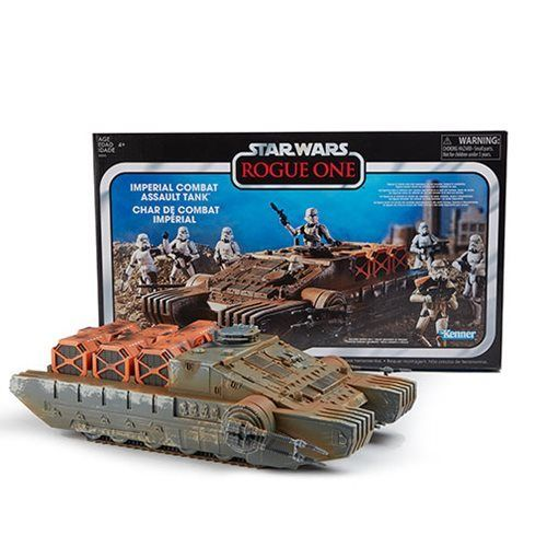 THE VINTAGE COLLECTION - IMPERIAL COMBAT ASSAULT HOVERTANK 3,75""