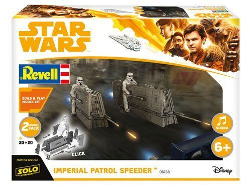 REVELL STAR WARS SOLO - IMPERIAL PATROL SPEEDER 1/28