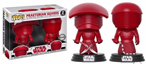 FUNKO POP STAR WARS THE LAST JEDI - PRAETORIAN GUARDS 2-PACK / EXCLUSIVE