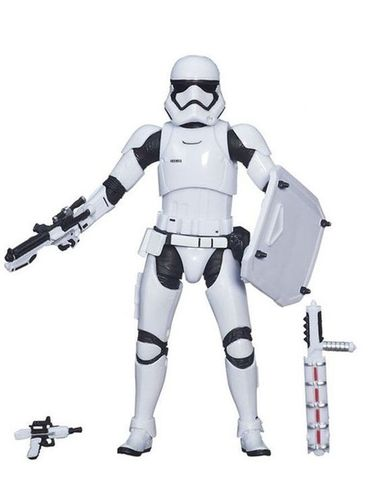 "FIRST ORDER RIOT CONTROL STORMTROOPER (TARGET EXCLUSIVE) 6"" / LOOSE"