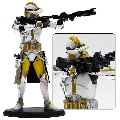 ATTAKUS STAR WARS ELITE COLLECTION CLONE COMMANDER BLY / 19 CM
