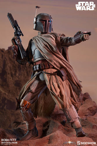 SIDESHOW STAR WARS MYTHOS - BOBA FETT / SIXTH SCALE