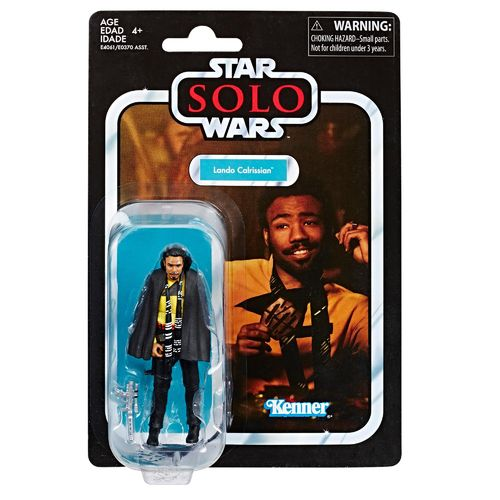 "THE VINTAGE COLLECTION - LANDO CALRISSIAN (SOLO) 3,75"" / VORBESTELLERSTOP"