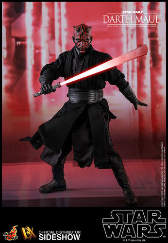 HOT TOYS STAR WARS DARTH MAUL DELUXE (TPM) / SIXTH SCALE DX16