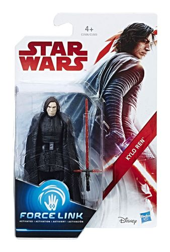 "THE LAST JEDI - KYLO REN 3,75"" / FORCE LINK"